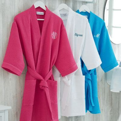 Bed Bath And Beyond Robes by Embroidered Waffle Weave Kimono Robe Bed Bath And Beyond
