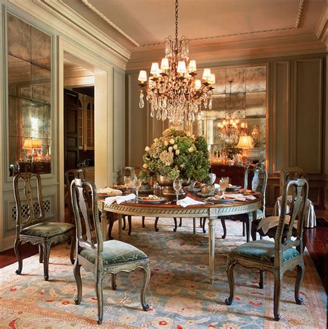 Spring decorating ideas that include egg shells and flowers are excellent for easter and any special event that celebrates a new. Dering Hall - 2016 | Green dining room, Elegant dining room, Dining room decor