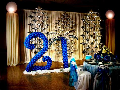 21st birthday decoration ideas diy