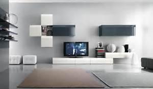 White and black tv wall mount interior design ideas