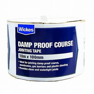 Wickes Damp Proof Course Jointing Tape 100mmx10m Wickes