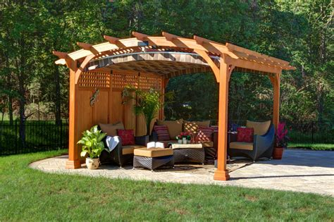 outdoor patio privacy screen ideas what is a pergola byler barns