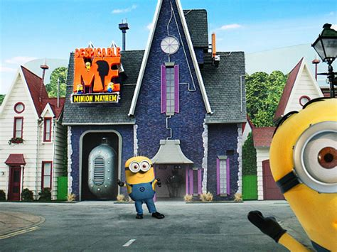 despicable  minion mayhem  universal studios