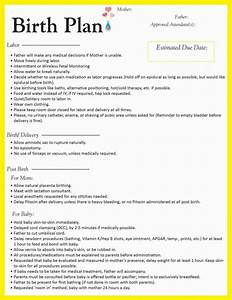 printable birth plan worksheet resultinfos With sample birth plans templates