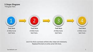 5 Steps Powerpoint Diagram