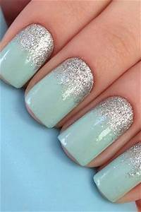 25+ best ideas about Aqua nails on Pinterest   Teal ...