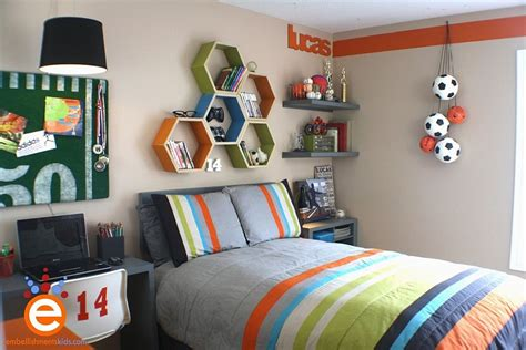 Unique Shelves For A Creative Kids' Room