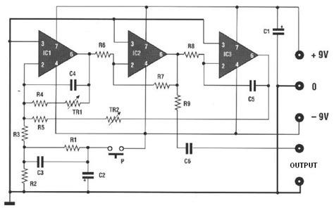 Electronic Bell Circuit Diagram by Gt Light Laser Led Gt An Automatic Flash Indicating Circuit