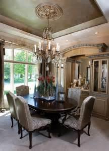 Tuscan Inspired Dining Room old world glitz tuscan inspired dining room makes a