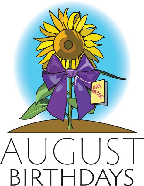 Birthday Celebration – August 20 – The Presbyterian Church ...