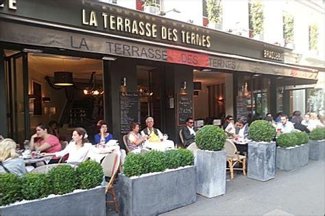 cuisine de terroir restaurant la terrasse des ternes 17 ème français