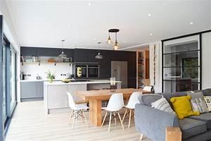 Modern Kitchen Installation in London - Dark Grey Matt and ...  Modern