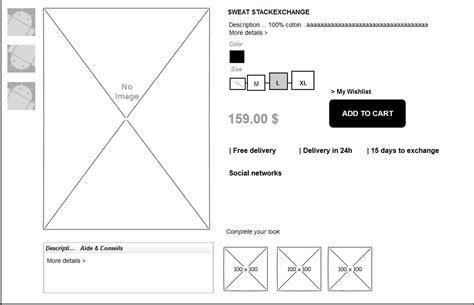 ui ux designer description catalog best product page layout user experience