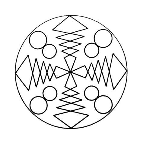 Kleurplaat Mandala Kleuters by Mandala S Kleurplaten Kleurplatenpagina Nl Boordevol