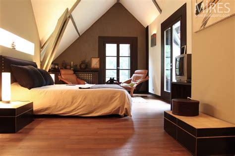 chambre marron et or déco chambre blanc et marron