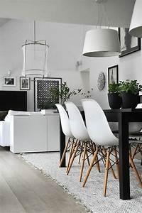 les chaises de salle a manger 60 idees archzinefr With meuble de salle a manger avec coussin style scandinave pas cher