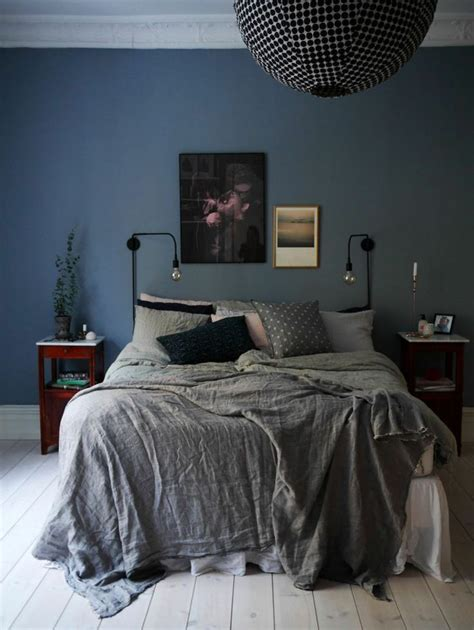 couleur chambre à coucher adulte couleur chambre adulte idées déco avec nuances foncées