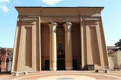 Egyptian Building Buildings Richmond Vcu Thomas Architecture