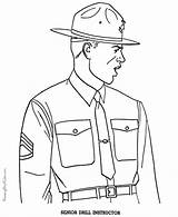 Coloring Pages Army Military Popular sketch template