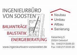 Energieausweis Berechnen : ingenieurb ro von soosten gmbh baustatik planung konstruktion energieausweis ~ Themetempest.com Abrechnung