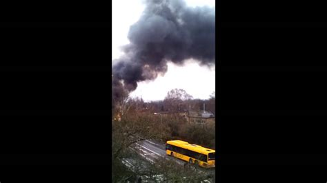 Buss Exploderar I Lund