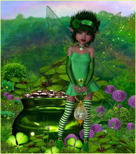 Little Irish Fairy Graphics Butterflywebgraphics