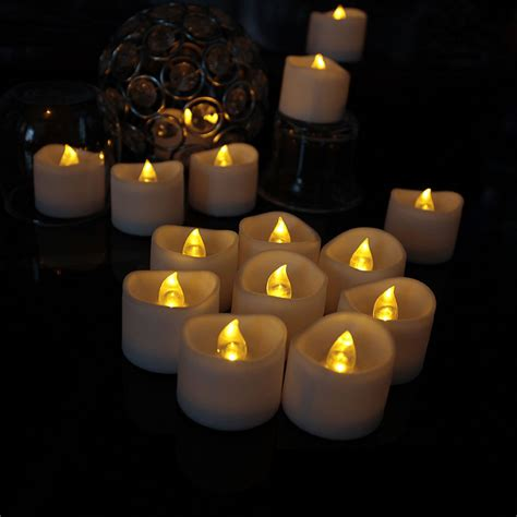 flickering led candle lights liander flameless candles flickering timing warm
