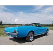 1964 1/2 Ford Mustang Convertible Rare 300 Mi On Rebuilt