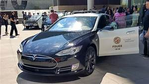 Los Angeles Police Department is loaned a Tesla Model S ...