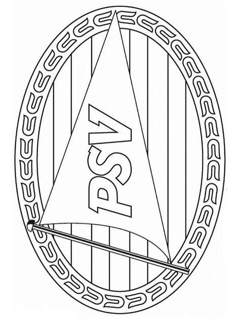 Psv Logo Kleurplaat by Kleurplaten En Zo 187 Kleurplaat Psv