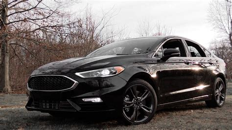ford fusion sport review youtube