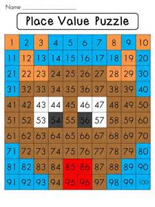 Math Place Value Hundreds Chart