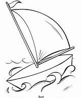 Coloring Simple Perahu Mewarnai Gambar Anak Sketsa Untuk Paud Totoro Belajar Boat Neighbor Colouring Toddlers Einfache Ausmalbilder Sailboat Clip Library sketch template