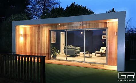 Garden Room With Living Roof by Gallery Garden Rooms Home Office Suppliers Dublin