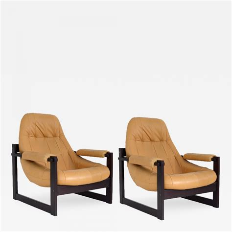 percival lafer percival lafer pair of lounge chairs