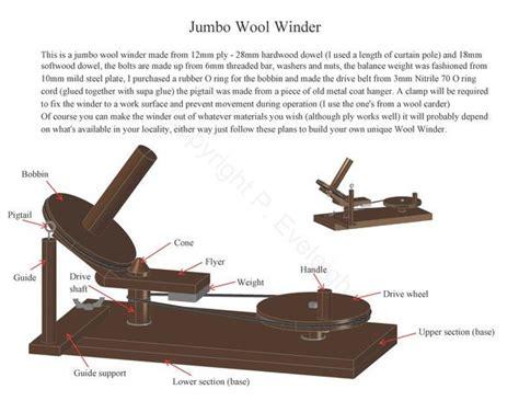 wool winder plans projects   spinning yarn yarn