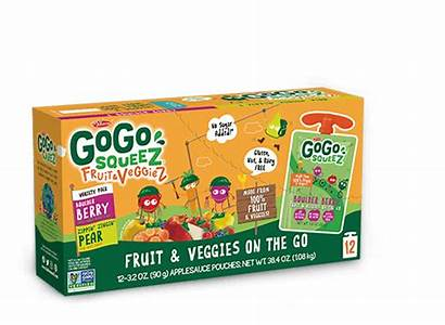 Variety Pack Fruit Gogo Squeez Berry Packs