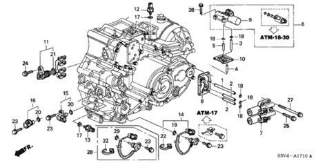 2008 Acura Mdx Engine Diagram by At Sensor Solenoid 03 06 For 2004 Acura Mdx 5 Door