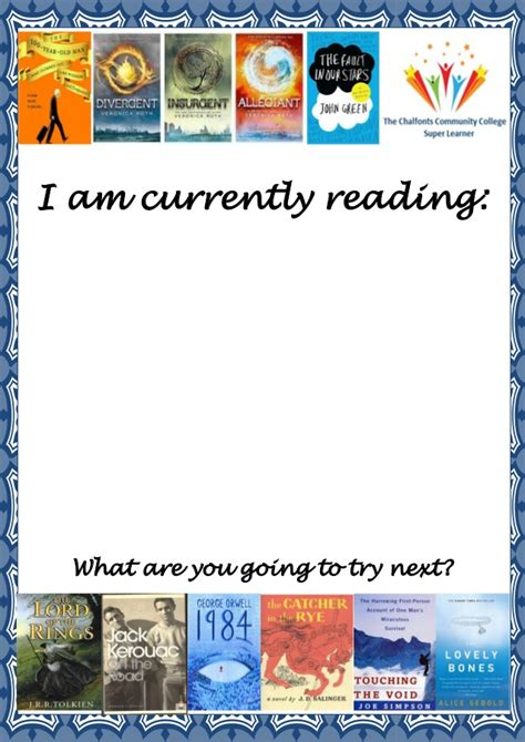 I Am Currently Reading Poster