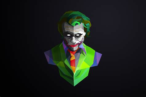 Abstract Joker Wallpaper facets hd wallpaper background image 2160x1440 id