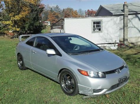 Sell Used No Reserve Custom 2007 Honda Civic Ex Coupe 1.8l