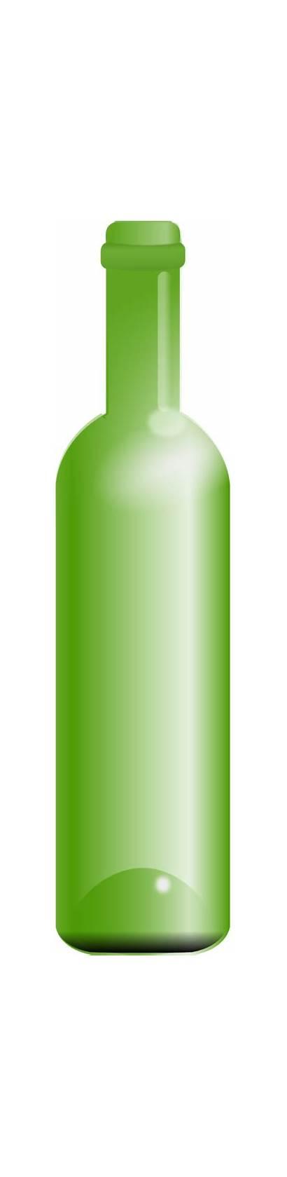 Bottle Empty Clipart Clip Domain I2clipart Cliparts