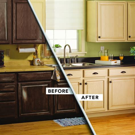 kitchen makeover images change the look of your cabinets with a rust oleum 2264