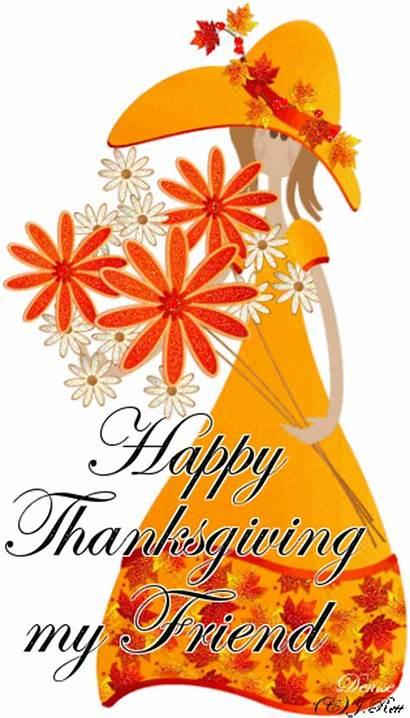Thanksgiving Happy Friend Glitter Graphics Seasonal Community