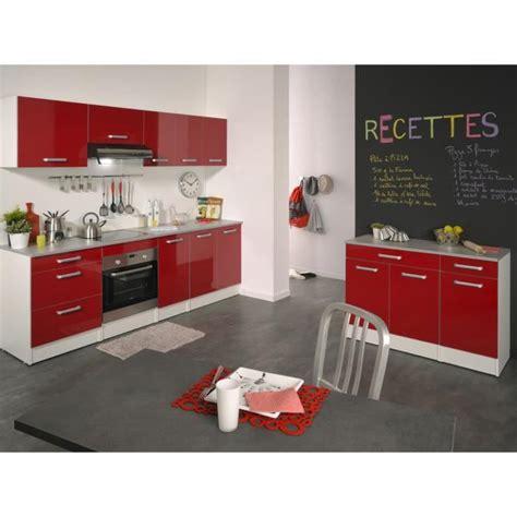 cuisine couleur bordeaux brillant cuisine complète 240 cm brillant shiny achat vente