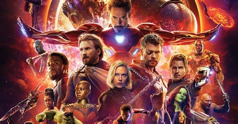 avengers infinity war il nuovo poster  il trailer