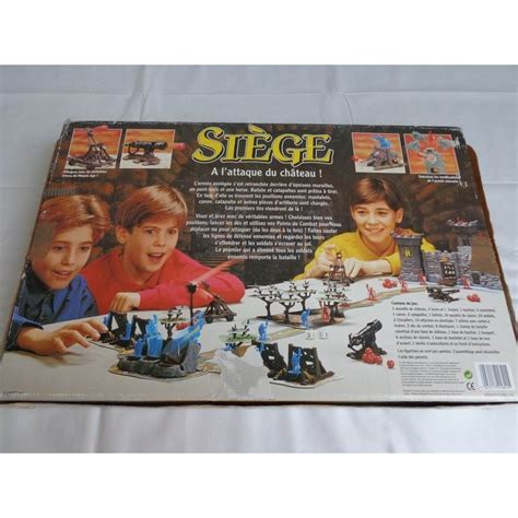 siege jeux siège a l 39 attaque du chateau jeu mb 1993 jouets