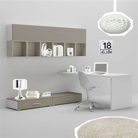 meuble chambre ado gar輟n bureau ado avec jambage moderne 233 pur 233 compact