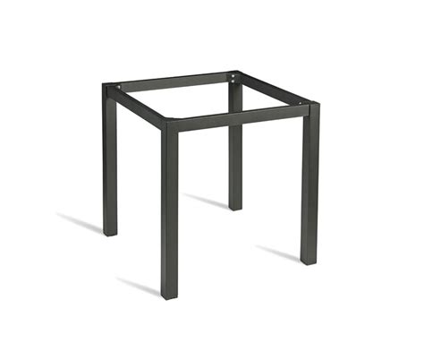 grosfillex 52812017 black bar height outdoor table base 24