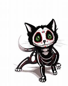 best 25 sugar skull cat ideas on pinterest sugar skull With kitchen colors with white cabinets with badass welding stickers